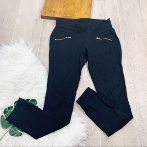 Guess Black Skinny Stretch Zip Pocket Pants 3085